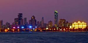 Mumbai Skyline and Films