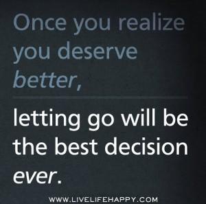Let Go of Ex Boyfriends