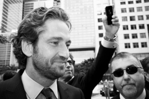 Gerard Butler: Losing his Father