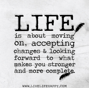 Moving On is Acceptance