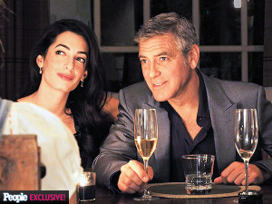 Happy in Love: George Clooney and Amal Alamuddin