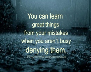 Accept Your Mistakes Lovingly